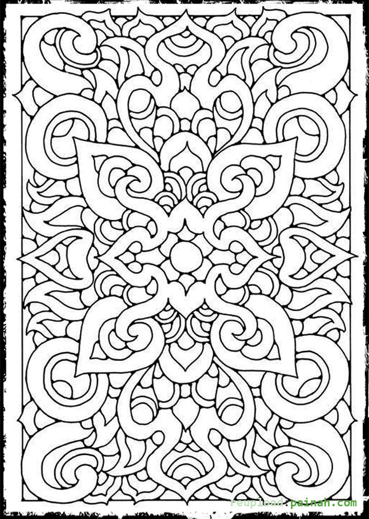 Free Coloring Sheets For Teens  Printable Coloring Pages For Teens Printable 360 Degree