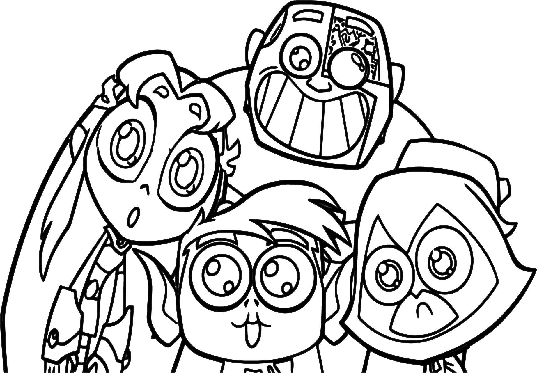 Free Coloring Sheets For Teens  Teen Titans Coloring Pages Best Coloring Pages For Kids