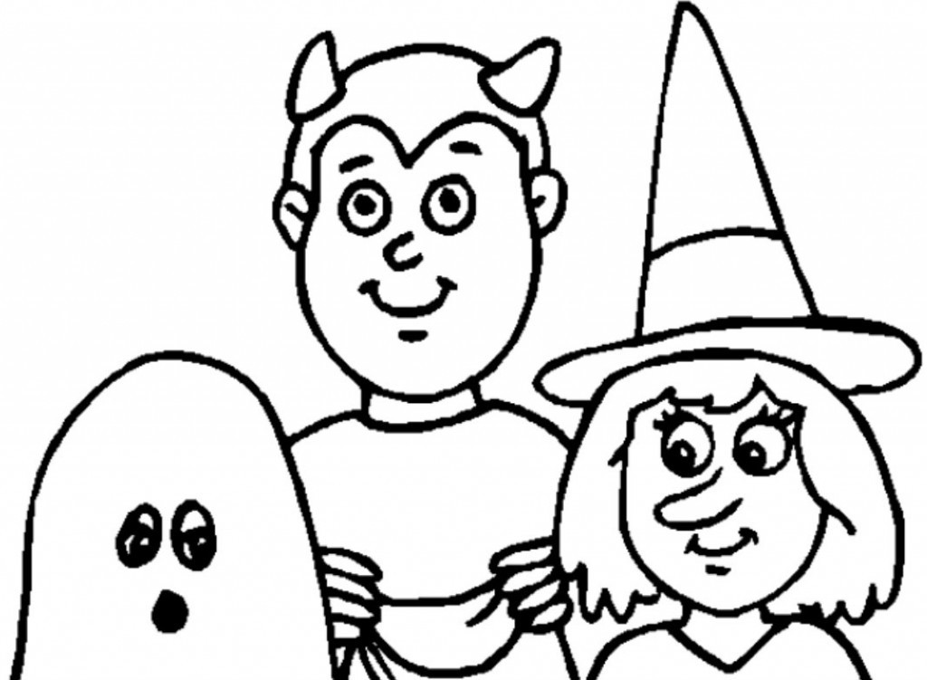 Free Coloring Sheets For Toddlers  Free Printable Halloween Coloring Pages For Kids