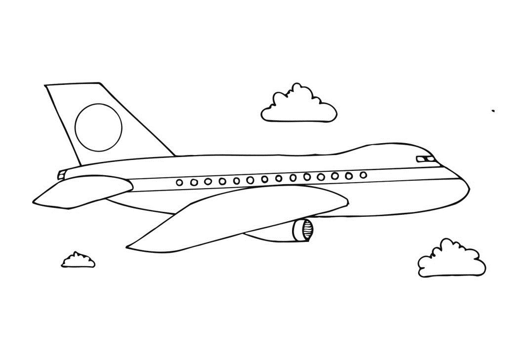 Free Coloring Sheets Of Airplanes  free printable airplane coloring pages for preschoolers