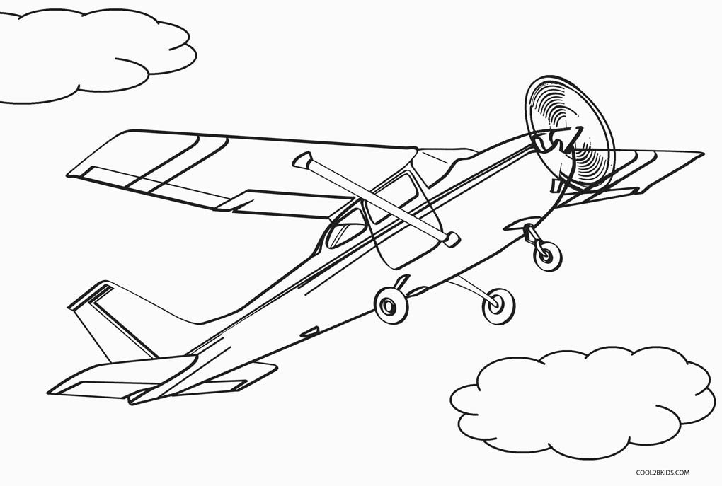 Free Coloring Sheets Of Airplanes  Free Printable Airplane Coloring Pages For Kids