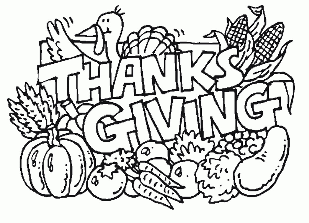 Best ideas about Free Coloring Sheets On Gratutude . Save or Pin free thanksgiving coloring pages games printables Now.