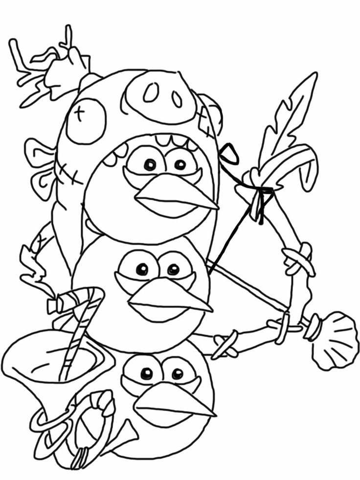 Best ideas about Free Coloring Sheets On Gratutude . Save or Pin Angry birds epic coloring page blue birds Now.