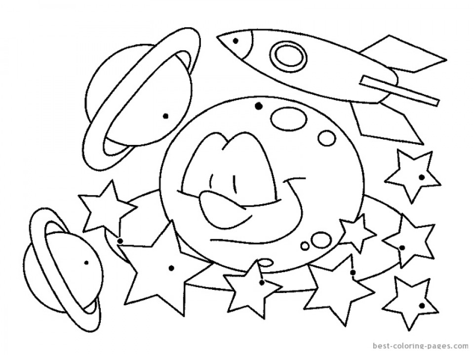 Free Coloring Sheets Space Ship  Get This Free Space Coloring Pages to Print rk86j