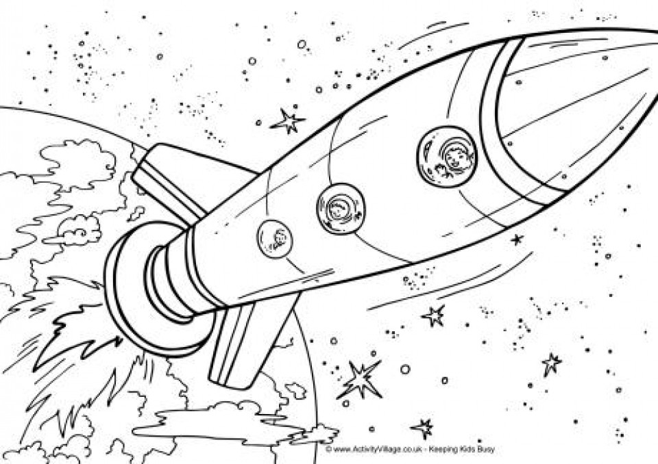 Free Coloring Sheets Space Ship  Get This Printable Space Coloring Pages p79hb