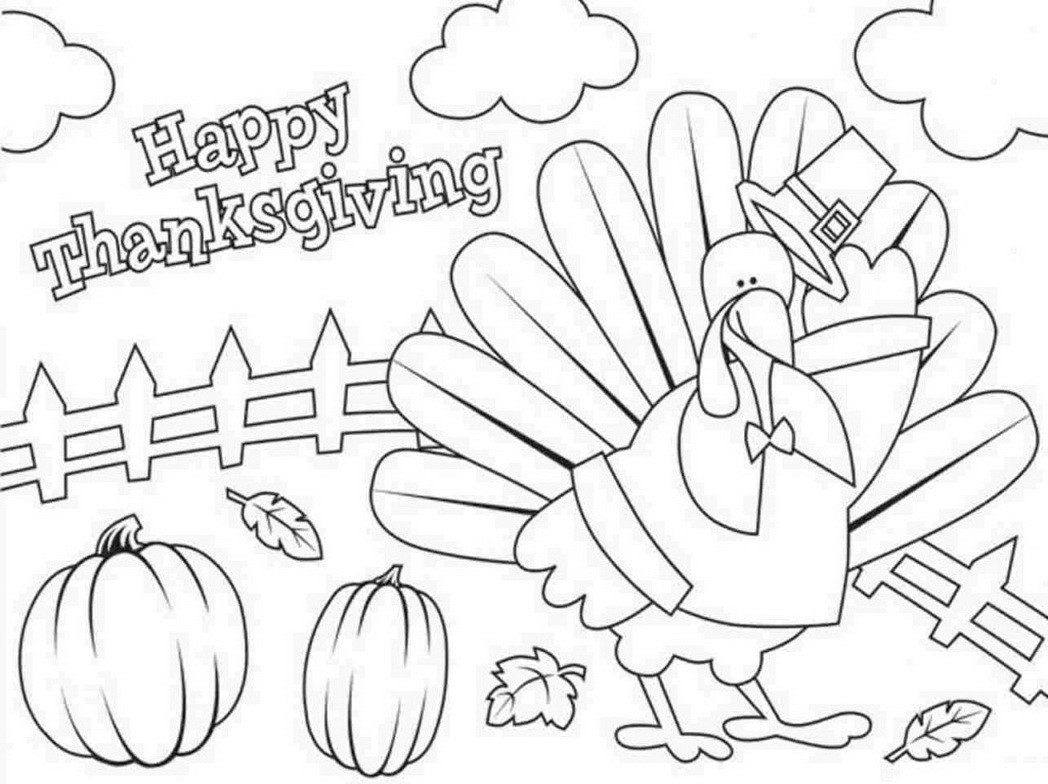 Best ideas about Free Coloring Sheets Thanksgiving Dance . Save or Pin Full Page Thanksgiving Coloring Pages – Festival Collections Now.