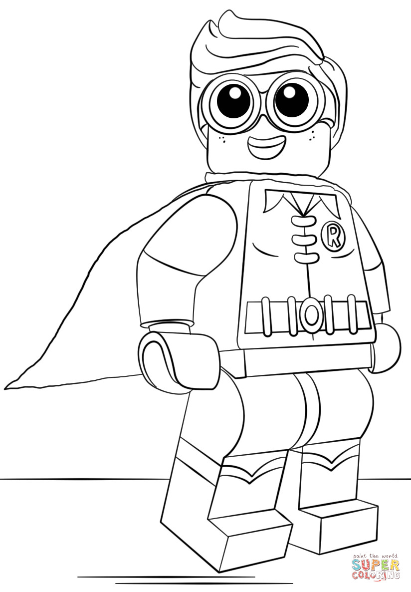 Free Coloring Sheets To Print  Coloring Sheets For Boys Free Printable Robin The Color