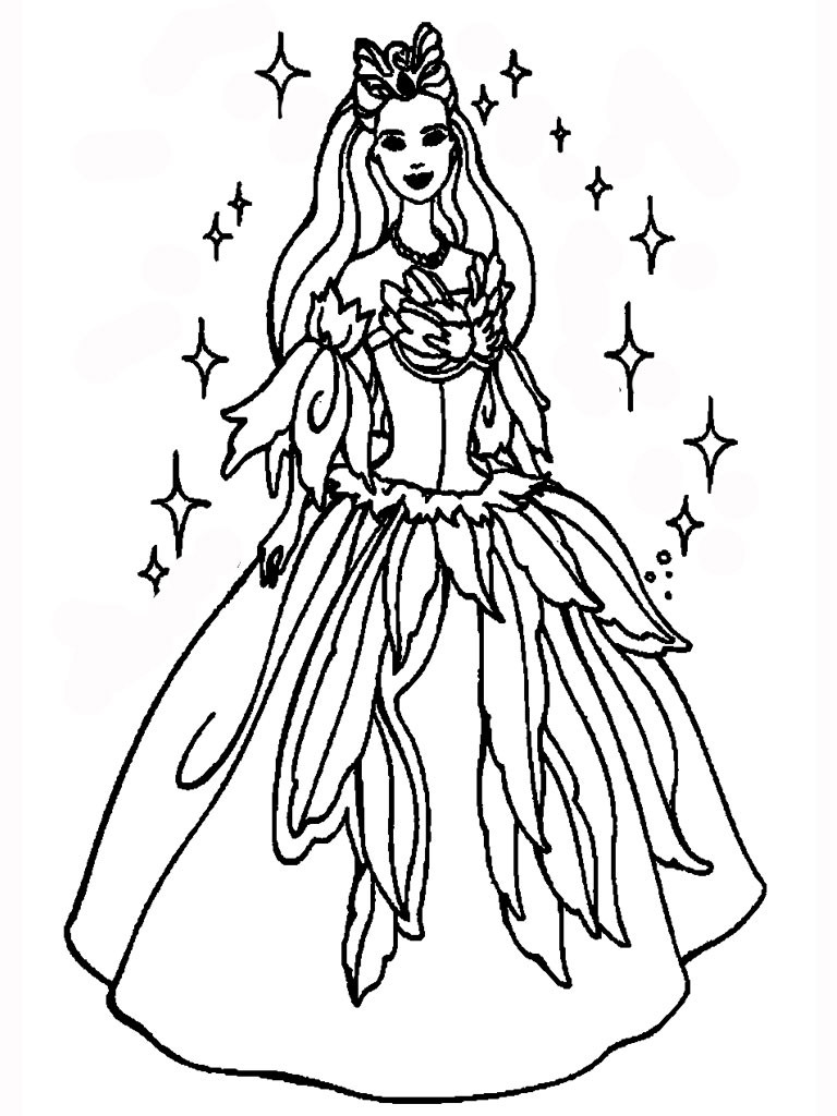 Free Coloring Sheets To Print  45 Free Printable Princess Coloring Pages to Print