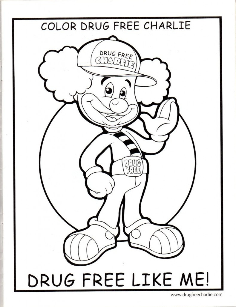 Best ideas about Free Drug Free Coloring Sheets . Save or Pin Drug Free Charlie – Coloring Pages Now.