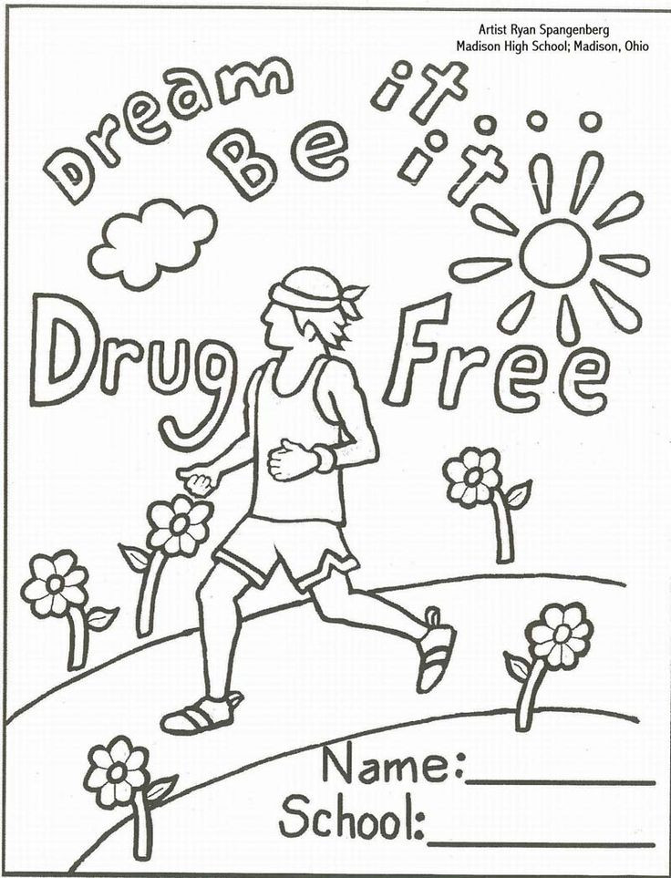 Best ideas about Free Drug Free Coloring Sheets . Save or Pin Anti Smoking Coloring Sheets Now.