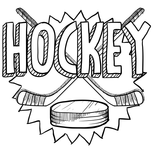 Free Hockey Coloring Pages For Kids  Hockey Coloring Page KidsPressMagazine