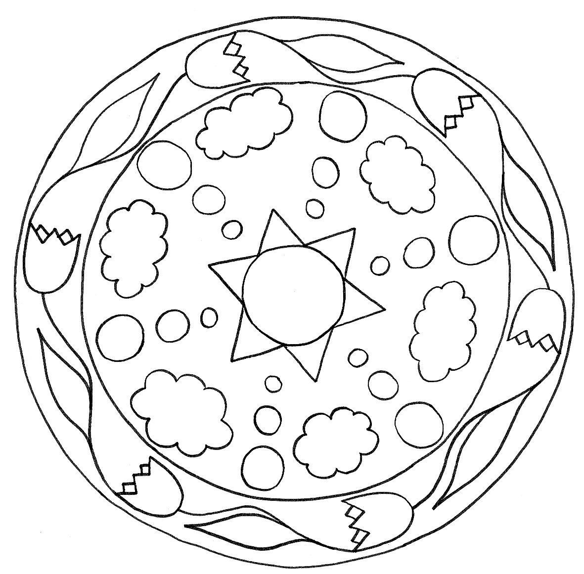 Best ideas about Free Mandala Coloring Pages For Kids . Save or Pin Free Printable Mandalas for Kids Best Coloring Pages For Now.