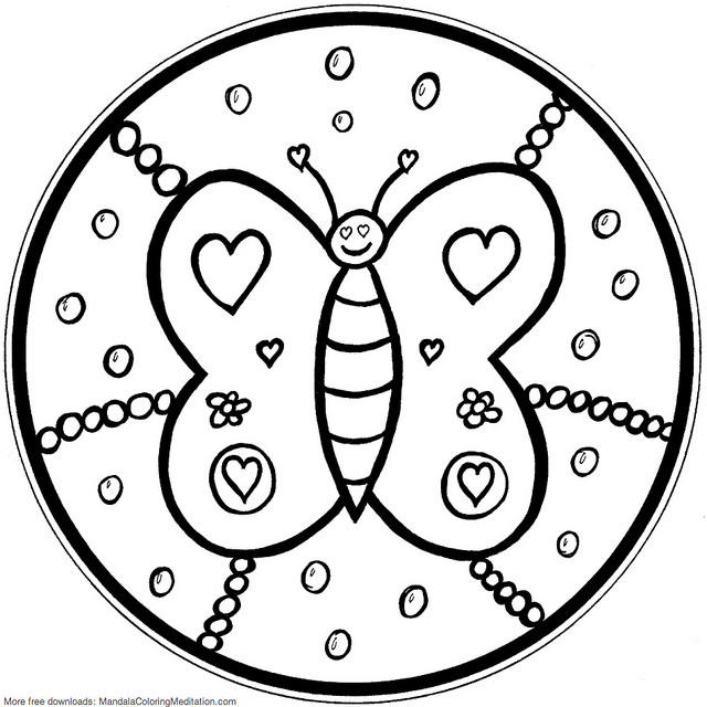 Best ideas about Free Mandala Coloring Pages For Kids . Save or Pin Mandala Coloring Pages For Kids Parenting Times Now.