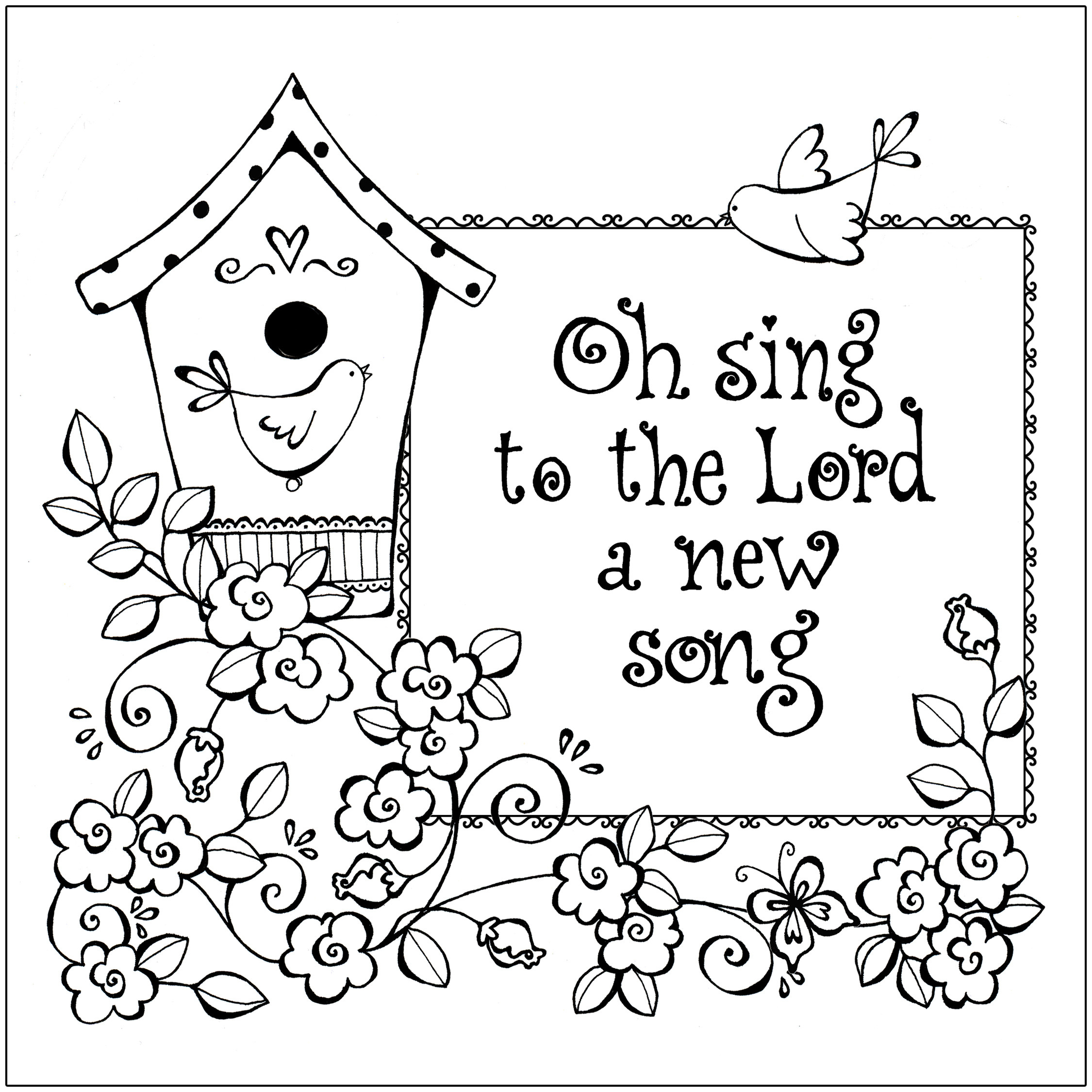 Free Printable Bible Coloring Pages With Scriptures  Free Printable Christian Coloring Pages for Kids Best