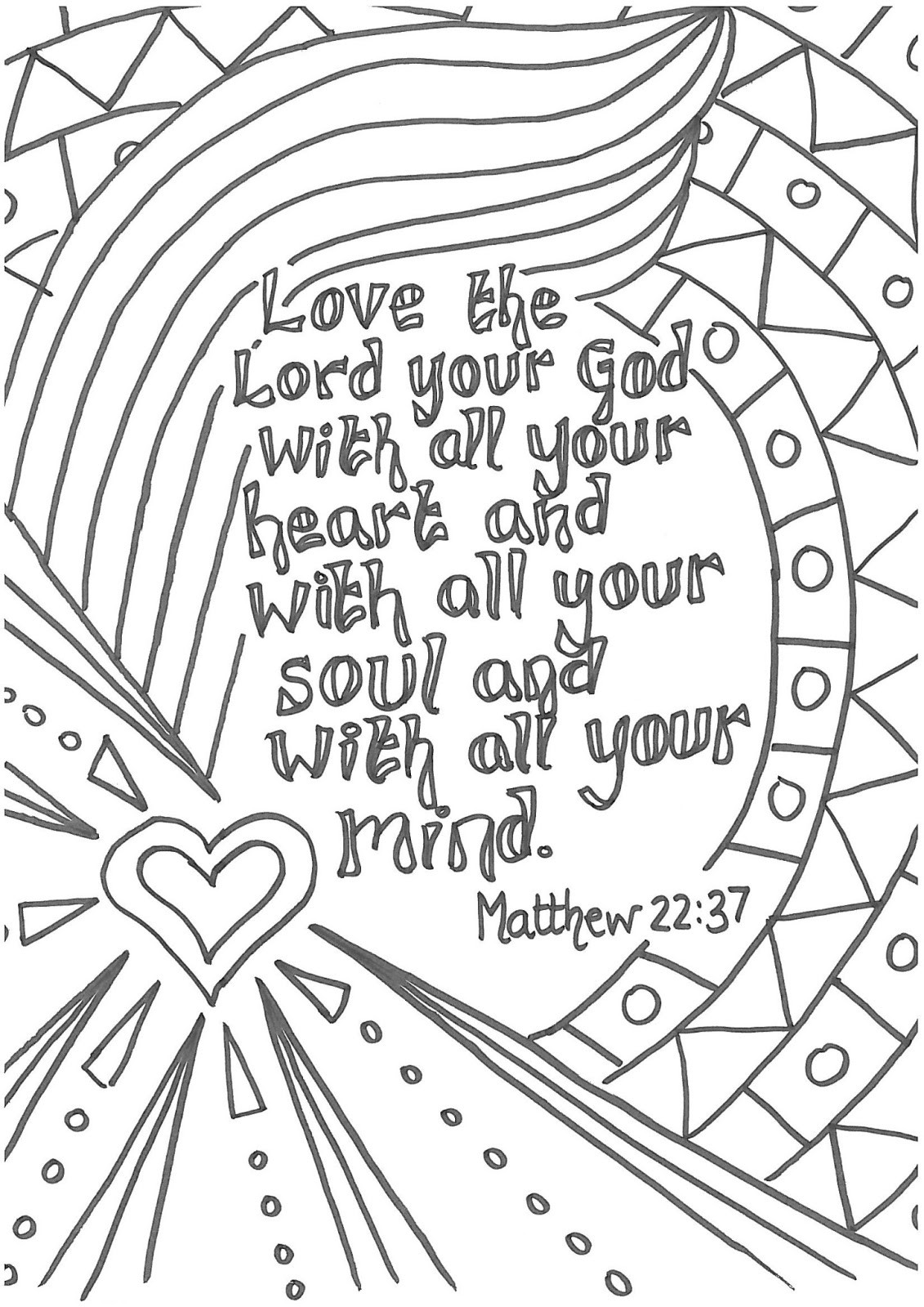 Free Printable Bible Coloring Pages With Scriptures  Sermons For Kids Coloring Pages