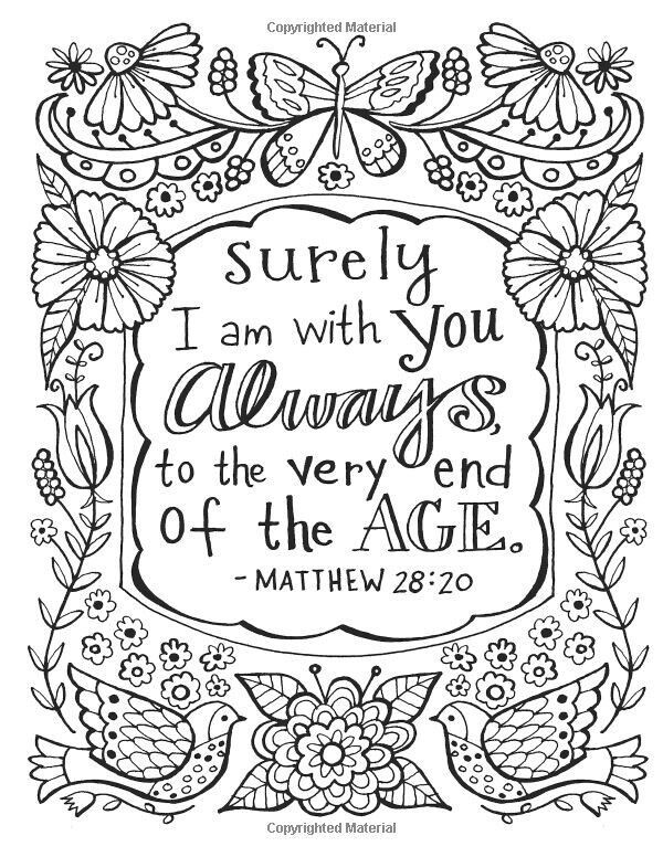 Free Printable Bible Coloring Pages With Scriptures  Pin by Yesenia Roses on Paint Art Pinterest