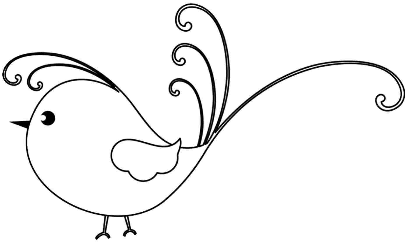 Free Printable Bird Coloring Pages  Coloring Pages Birds Printable The Art Jinni
