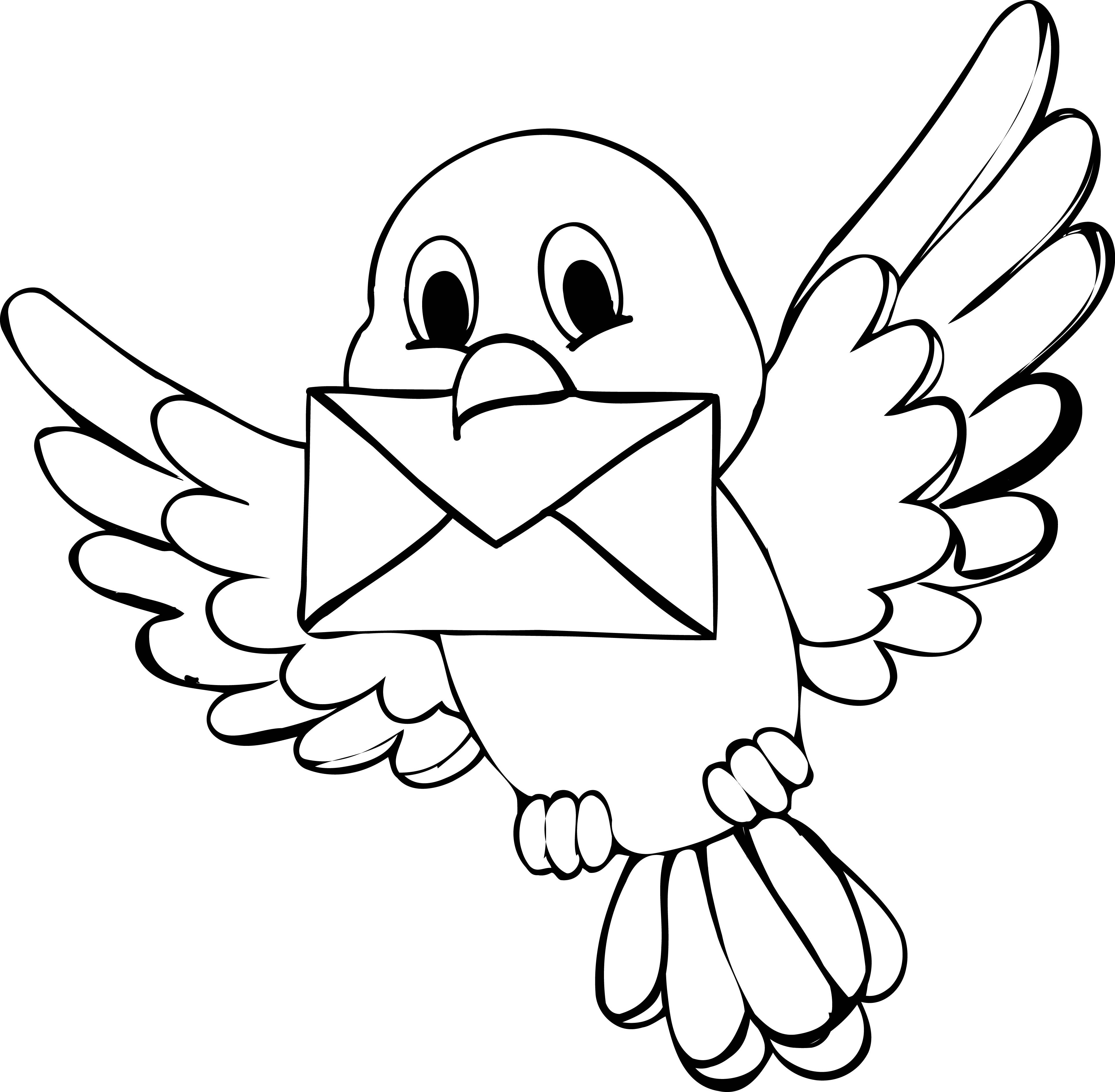 Free Printable Bird Coloring Pages  Cute Birds Coloring Pages