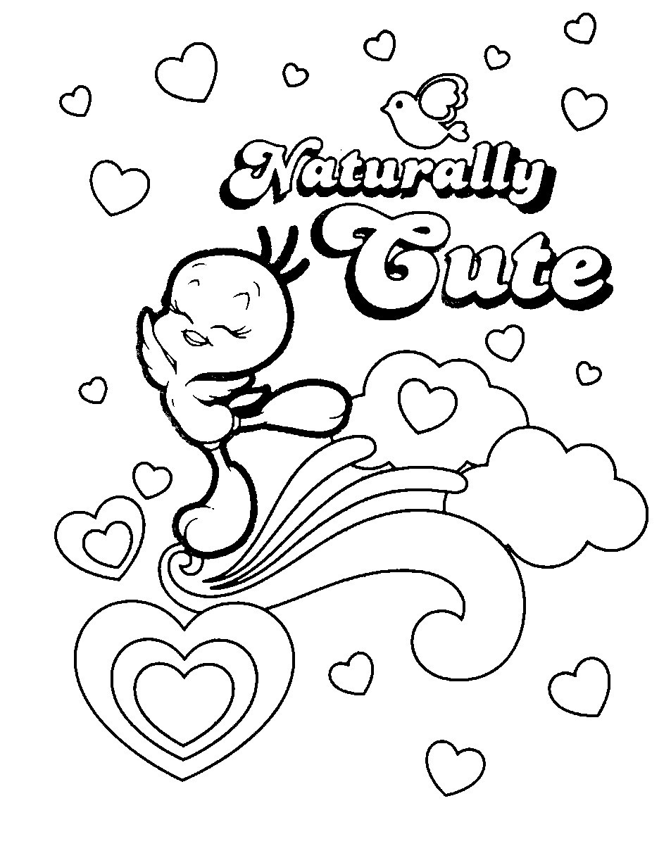 Free Printable Bird Coloring Pages  Free Printable Tweety Bird Coloring Pages For Kids