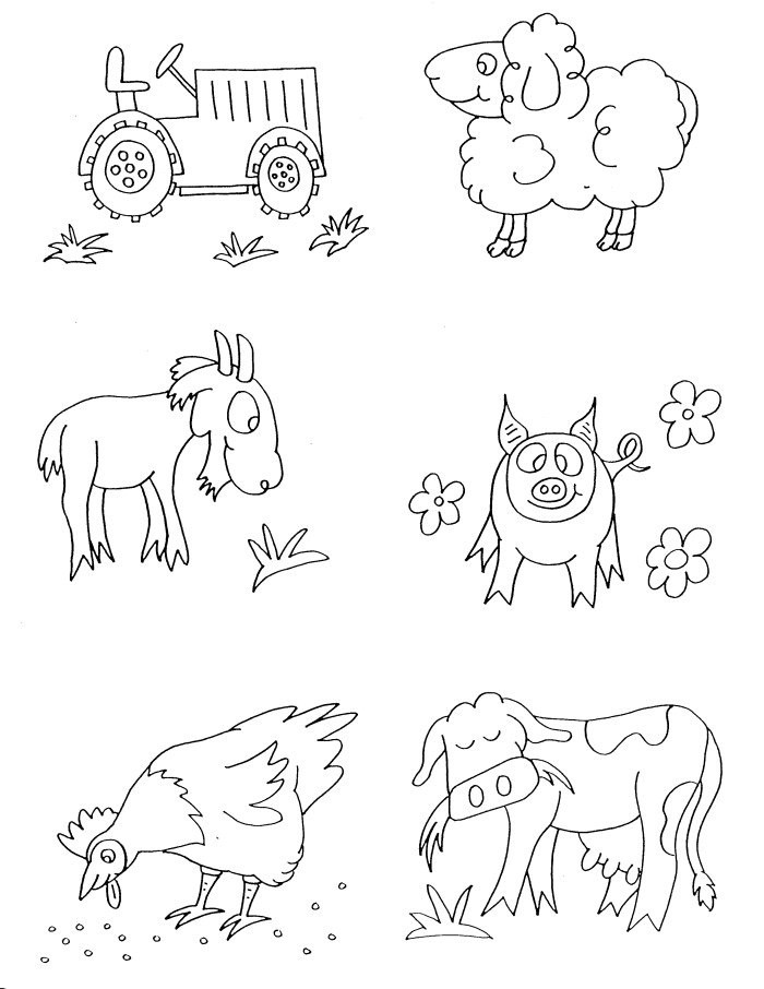 Best ideas about Free Printable Coloring Pages Animals . Save or Pin Free Printable Farm Animal Coloring Pages For Kids Now.