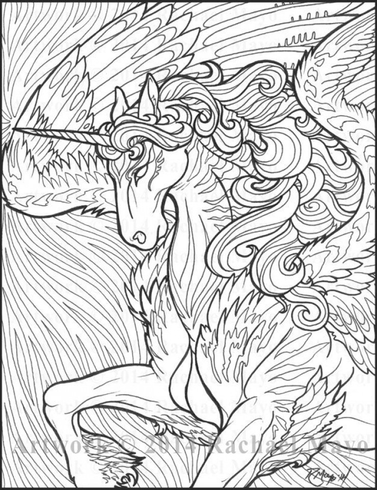 Best ideas about Free Printable Coloring Pages For Adults Only Pdf . Save or Pin 20 Free Printable Unicorn Coloring Pages for Adults Now.