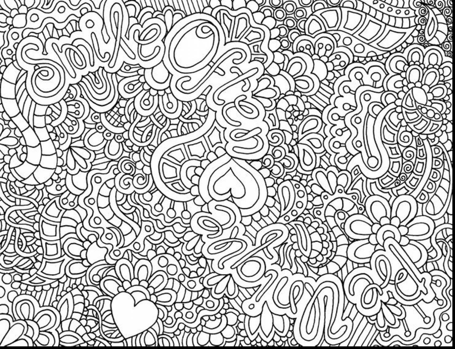 Best ideas about Free Printable Coloring Pages For Adults Only Pdf . Save or Pin Printable Coloring Pages for Adults ly to Print Now.