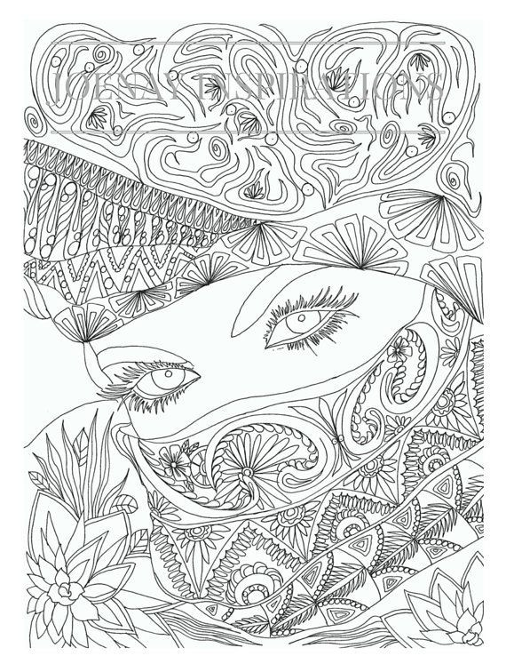 Best ideas about Free Printable Coloring Pages For Adults Only Pdf . Save or Pin Blank Coloring Pages For Adults Free Clipart Now.