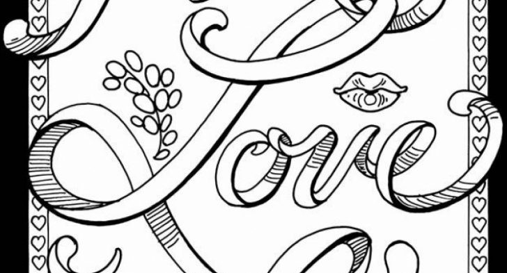 Free Printable Coloring Pages For Adults Only Swear Words  Free Printable Coloring Pages For Adults Swear Words