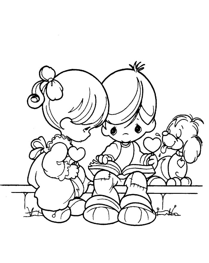 Free Printable Coloring Pages For Girls And Boys  coloring pages for boys and girls