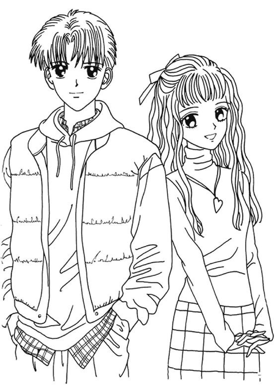 Free Printable Coloring Pages For Girls And Boys  Anime Coloring Pages Best Coloring Pages For Kids