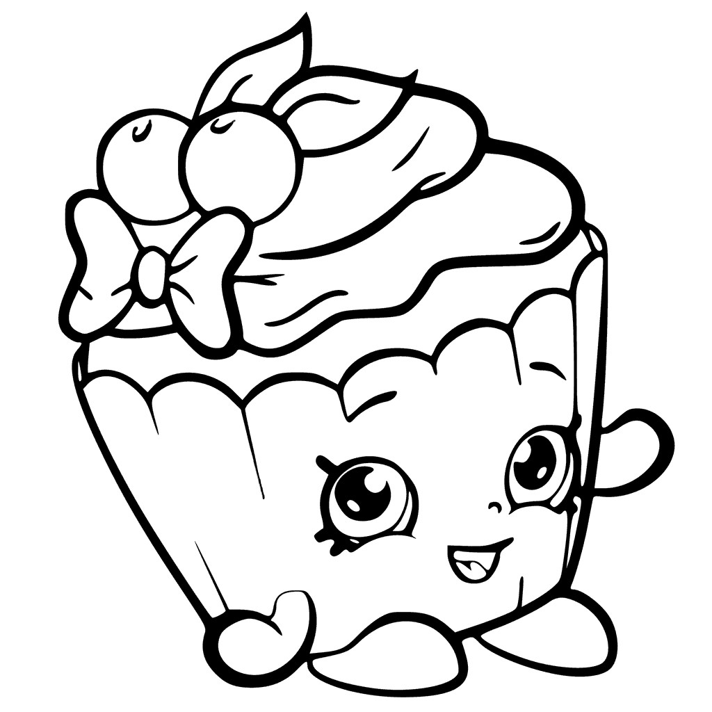 Free Printable Coloring Pages For Girls  Shopkins Coloring Pages Best Coloring Pages For Kids