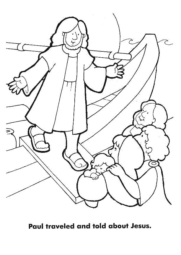 Free Printable Coloring Pages Of Paul And Silas  Paul And Silas Coloring Pages AZ Coloring Pages