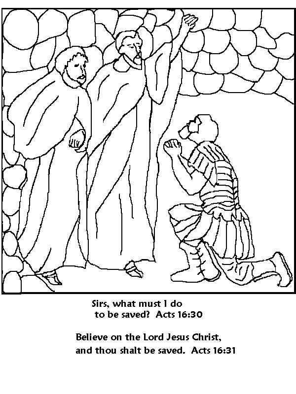 Free Printable Coloring Pages Of Paul And Silas  Sunday School Coloring Pages Paul