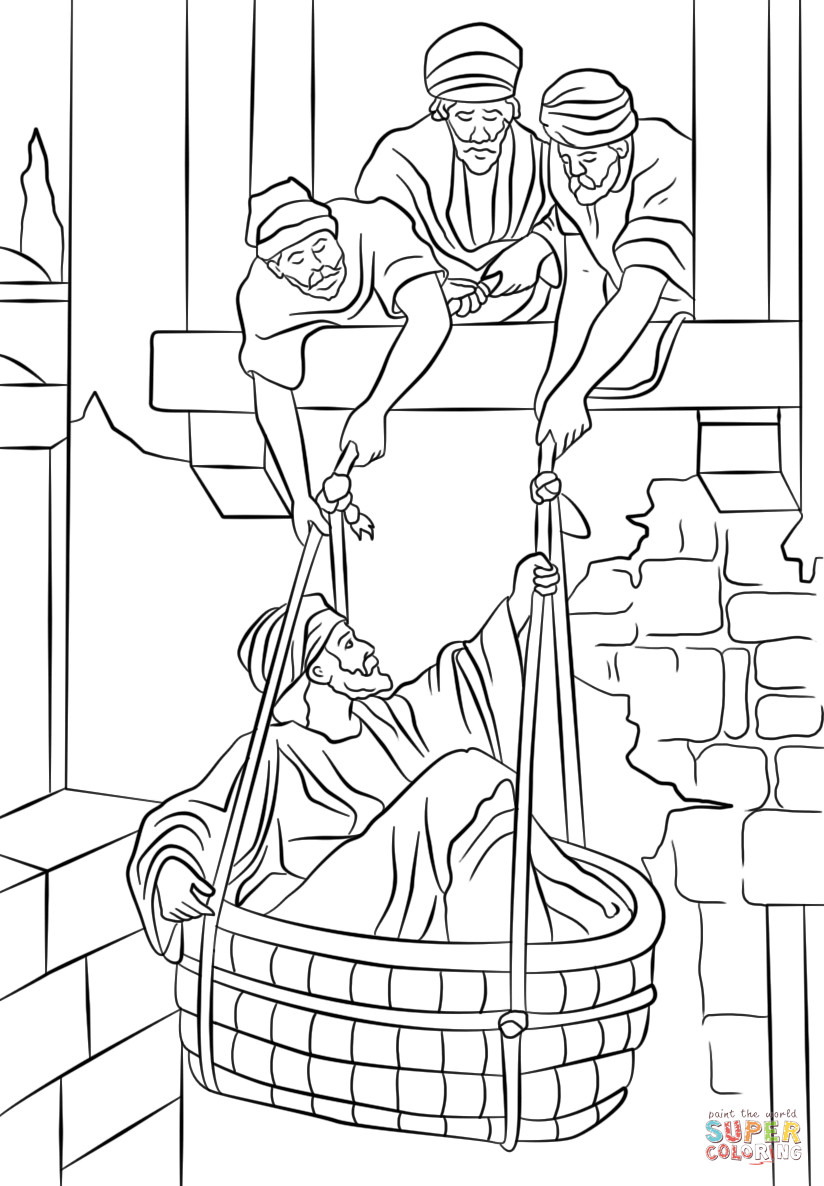 Free Printable Coloring Pages Of Paul And Silas  Paul And Silas In Prison Free Colouring Pages