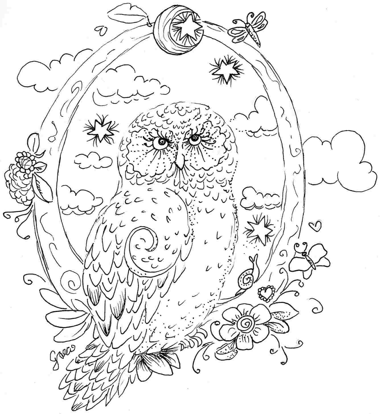 Best ideas about Free Printable Coloring Sheets Animal . Save or Pin Owl Coloring Pages Free 5646 Bestofcoloring Now.