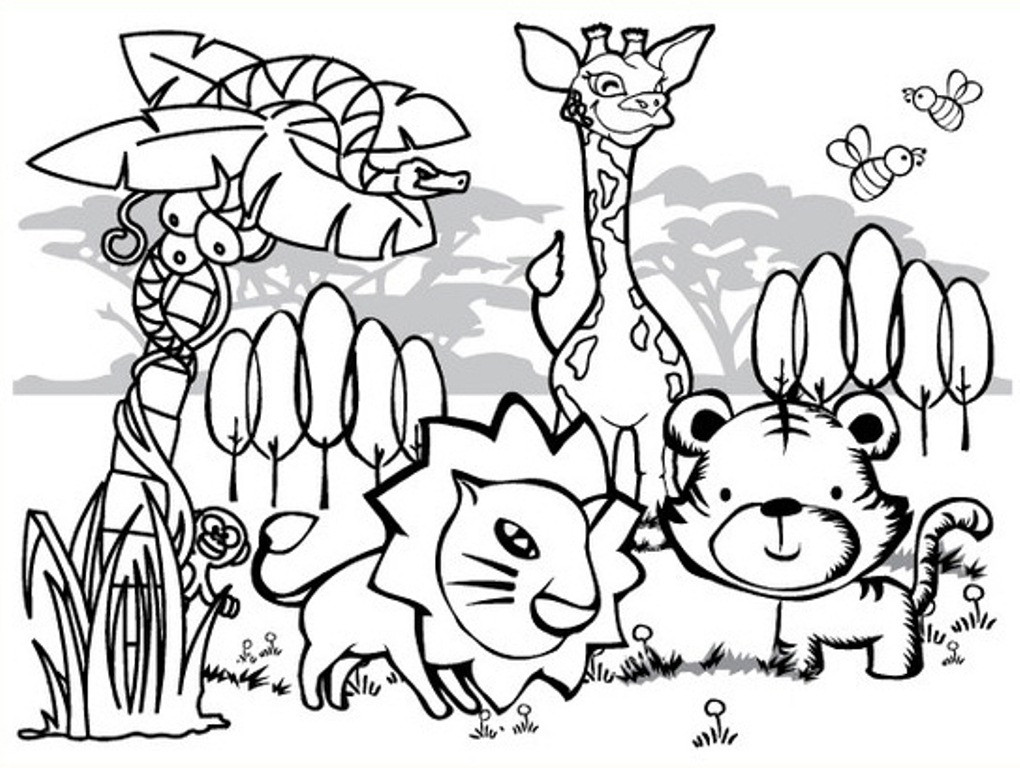 Best ideas about Free Printable Coloring Sheets Animal . Save or Pin Fantastic Interesting Animal Coloring Pages Printable Now.