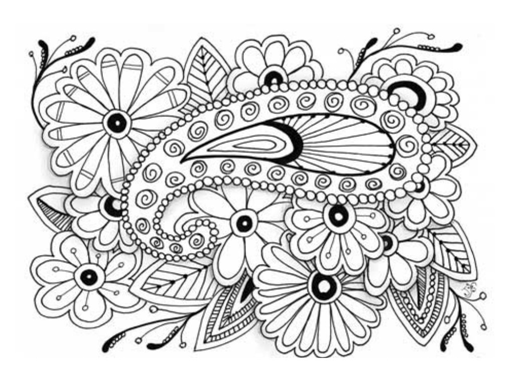 Best ideas about Free Printable Coloring Sheets For Adults . Save or Pin Free Downloadable Coloring Pages For Adults Image 13 Now.