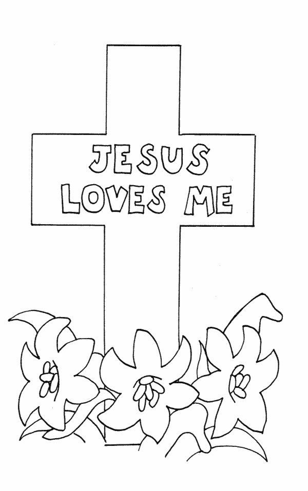 Free Printable Coloring Sheets For Church  Childrens Church Coloring Pages For Easter The Art Jinni
