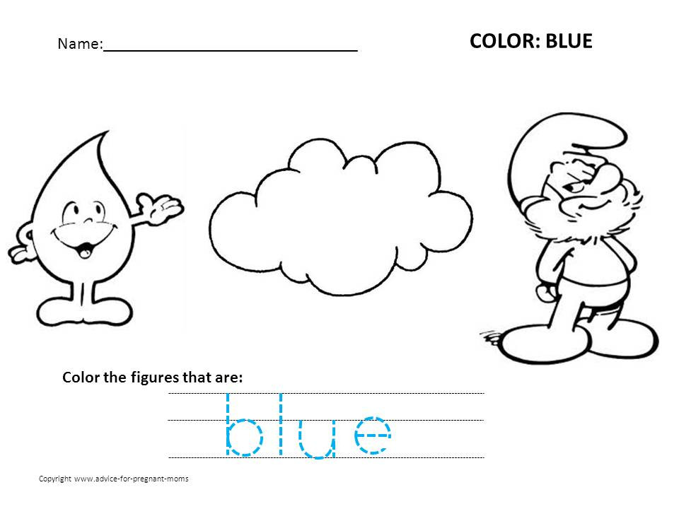 Best ideas about Free Printable Coloring Sheets For Preschoolers On The Color Blue . Save or Pin Coloring Pages Free Preschool Worksheets Templates Now.