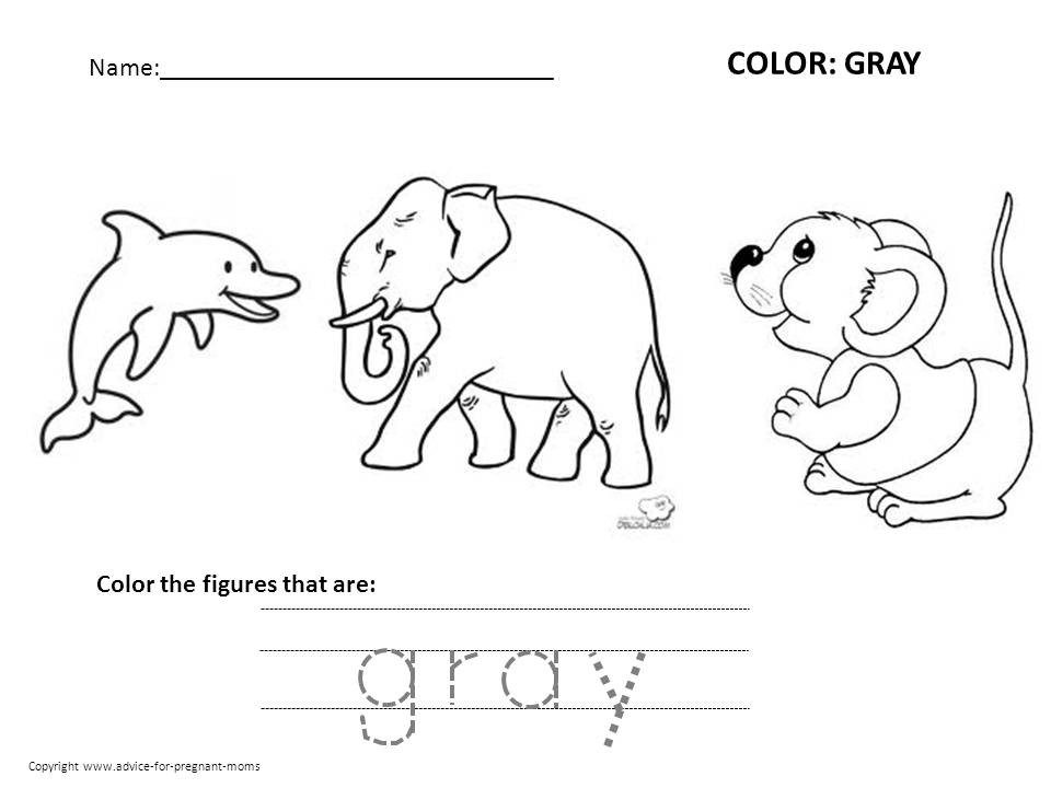 Best ideas about Free Printable Coloring Sheets For Preschoolers On The Color Blue . Save or Pin Free Preschool Worksheets For Learning Colors Now.