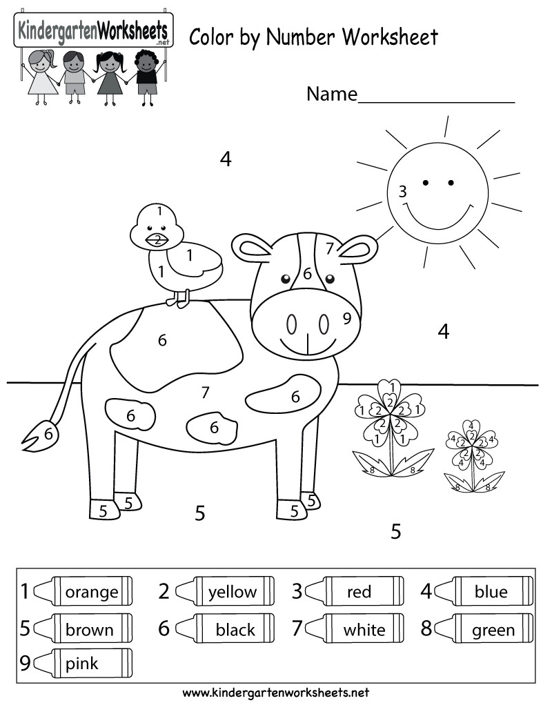 Best ideas about Free Printable Coloring Sheets For Preschoolers On The Color Blue . Save or Pin Free Printable Coloring Math Worksheets For Kindergarten Now.
