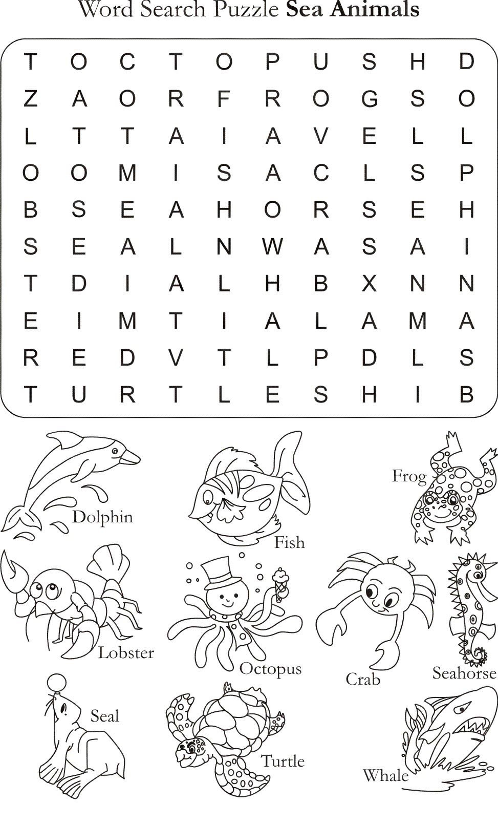 Free Printable Coloring Sheets Of Animals For 5 Grades  worksheet Animals Worksheet Worksheet Fun Worksheet