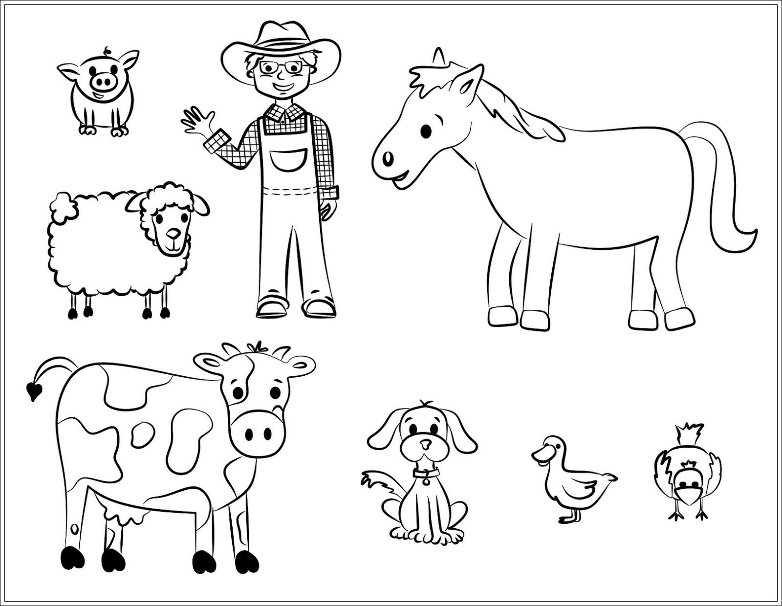 Free Printable Coloring Sheets Of Animals For 5 Grades  Ausmalbilder zum Ausdrucken Ausmalbilder Haustiere zum