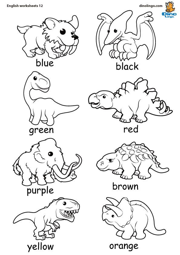 Free Printable Coloring Sheets Of Animals For 5 Grades  Coloring Dinosaurs Dinók Dinos Pinterest