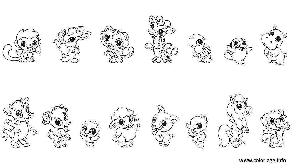 Best ideas about Free Printable Coloring Sheets Of Baby Animals With Big Eyes And Are Kittens . Save or Pin Coloriage Bebe Animaux Baby Animal dessin Now.