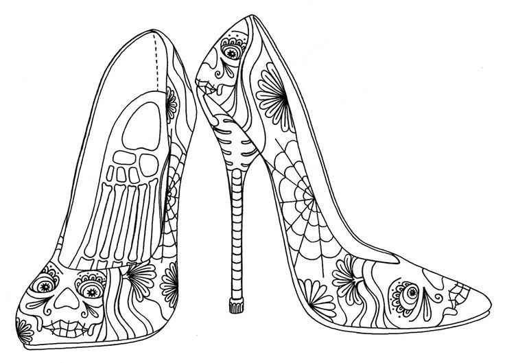 Best ideas about Free Printable Coloring Sheets Shoes . Save or Pin Free Coloring Pages For Girls Minion Shoes Converse 99 Now.