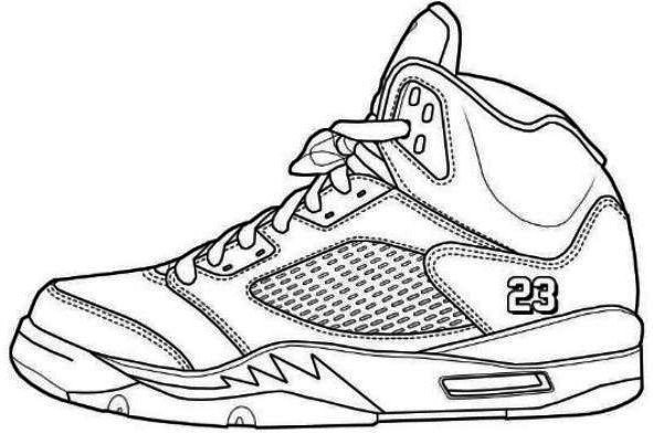 Best ideas about Free Printable Coloring Sheets Shoes . Save or Pin Jordans Shoes Coloring Pages Printable 2 Now.