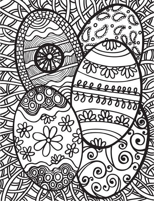Free Printable Coloring Sheets Spring For Adults  Easter Coloring Pages for Adults Best Coloring Pages For
