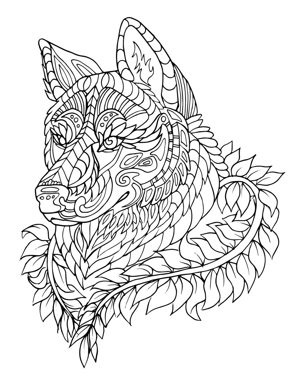 Free Printable Coloring Sheets Stress Relief  Stress Relief Coloring Pages Animals Free
