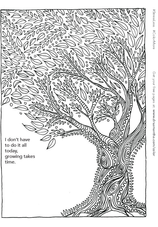 Free Printable Coloring Sheets Stress Relief  Why Adult Coloring is Good For Stress